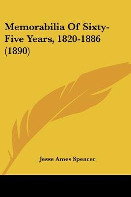 Memorabilia of Sixty-Five Years, 1820-1886 (1890) (Paperback): Jesse Ames Spencer