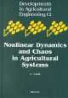 Nonlinear Dynamics and Chaos in Agricultural Systems, Volume 12 (Hardcover, 1st ed): K Sakai