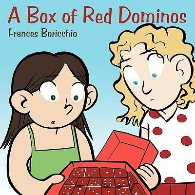 A Box of Red Dominos (Paperback): Frances Boricchio