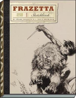 The Frazetta Sketchbook (Paperback): A01, Frank Frazetta, J. David Spurlock