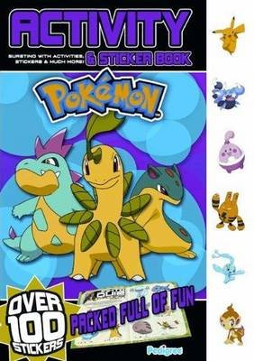 Pokemon Activity and Sticker  Book Summer 2010 (Paperback):