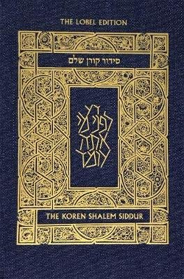 Koren Shalem Siddur with Tabs, Compact, Denim (Paperback): Jonathan Sacks