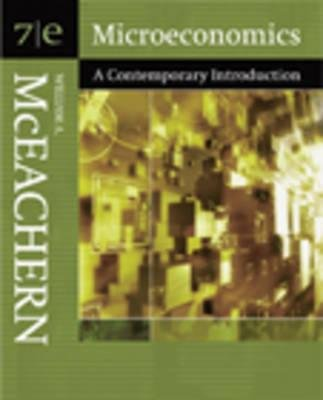 Microeconomics Contemporary Introduction (Book, 7th Revised edition): McEachern