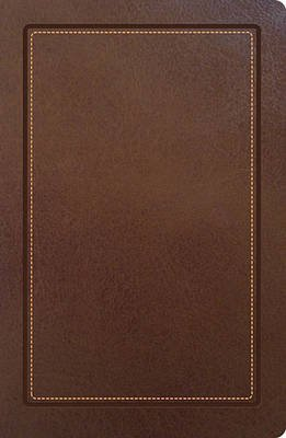 NKJV, Ultraslim Reference Bible, Imitation Leather, Brown, Red Letter Edition (Leather / fine binding): Thomas Nelson