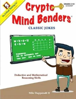 Crypto Mind Benders Jokes (Staple bound): 02302bbp