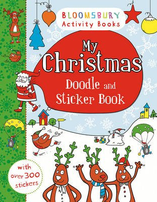 My Christmas Doodle and Sticker Book (Paperback):