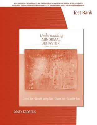 Tb Undstnd Abnormal Behav 10e (Paperback): Sue Sue