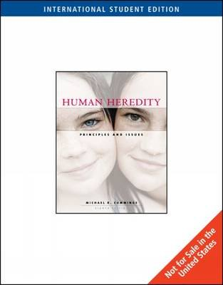 Human Heredity - Principles and Issues (Paperback, 8th international ed): Michael Cummings