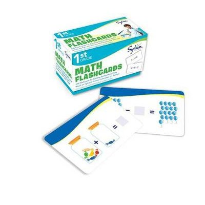 1st Grade Math Flashcards - 240 Flashcards for Building Better Math Skills Based on Sylvan's Proven Techniques for Success...