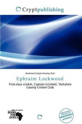 Ephraim Lockwood (Paperback): Hardmod Carlyle Nicolao