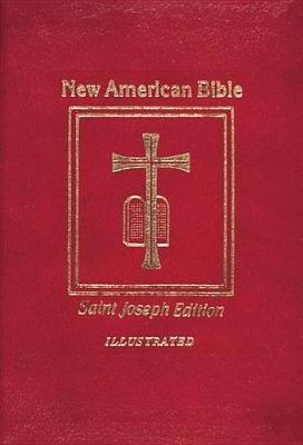 Saint Joseph Medium Size Bible-NABRE (Leather / fine binding, New American Bi): Catholic Book Publishing Co
