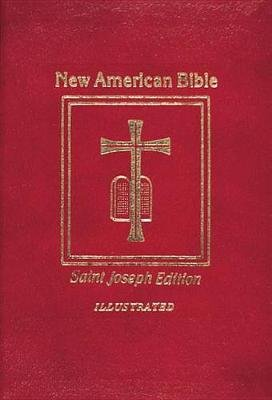 Saint Joseph Medium Size Bible-NABRE (Leather / fine binding, New American Bi): Catholic Book Publishing Co