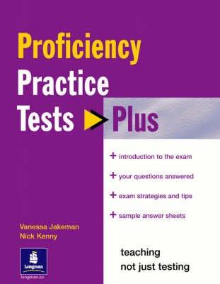 Practice Tests Plus CPE (Paperback): Nick Kenny, Vanessa Jakeman