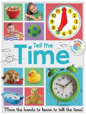 Building Blocks Tell the Time Clock Book (Novelty book):
