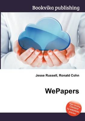 Wepapers (Paperback): Jesse Russell, Ronald Cohn