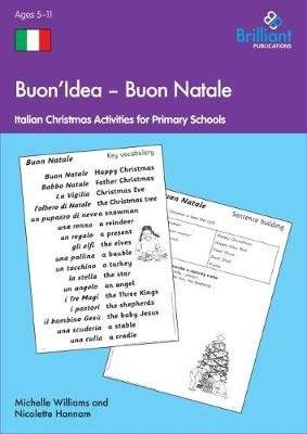 Buon Natale Activities - Italian Christmas Activities (Electronic book text, 1st edition): Nicolette Hannam, Michelle Williams