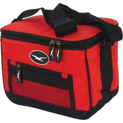 Seagull 6 Can Cooler Bag (Red):