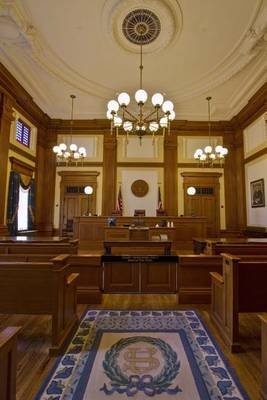 Court of Appeals Courtroom in Portland, Oregon Journal - 150 Page Lined Notebook/Diary (Paperback): Cool Image