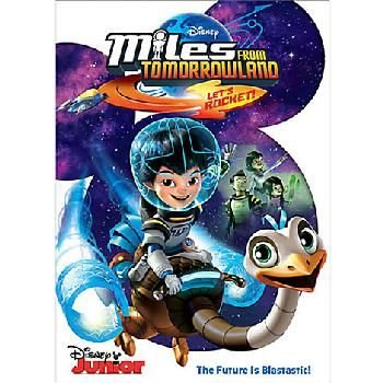 Miles From Tomorrowland - Let's Rocket (DVD): Chilren