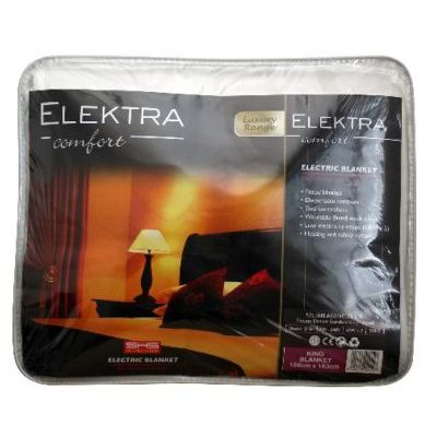 Elektra Electric Fitted Blanket (King Bed):