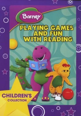 Movies Barney Playing Games Fun With Reading Dvd Was Listed