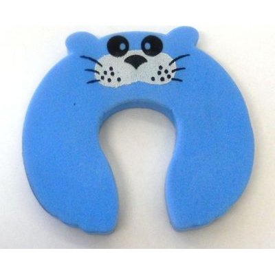 4AKid Foam Door Stopper Blue Mouse:
