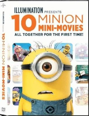 Minions Movie Collection - 10 Mini-Movies Collection (DVD):