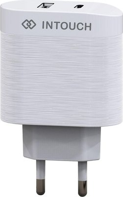 INTouch IT-TCU3040-WH Power Delivery Wall Charger (White)(36W):