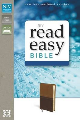 NIV Readeasy Bible (Leather / fine binding, Special edition): Zondervan