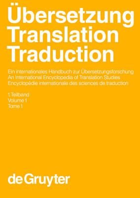 Ubersetzung - Translation - Traduction. 1. Teilband (German, Electronic book text): Harald Kittel