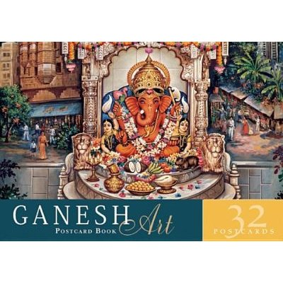 Ganesh Art Postcard Book - 32 Postcards (Paperback): Mandala Publishing