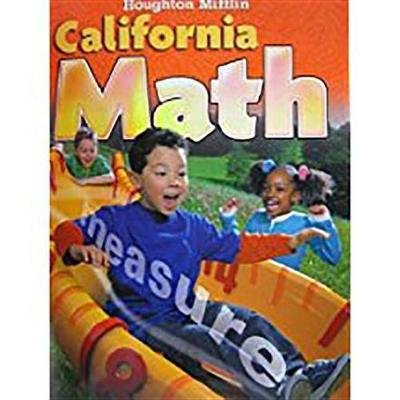 Houghton Mifflin Mathmatics California - Student Edition Level 2 2009 (Paperback): Houghton Mifflin Company
