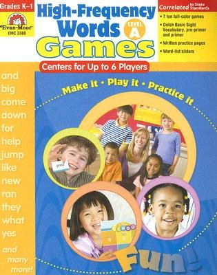 High-Frequency Words: Games for Up to 6 Players, A - Level A: Centers for Up to 6 Players (Paperback, Teacher): Camille...