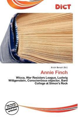 Annie Finch (Paperback): Knutr Benoit