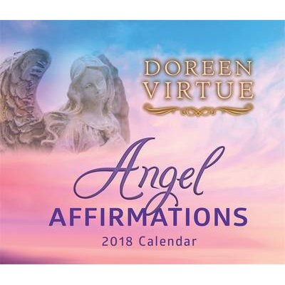 Angel Affirmations 2018 Calendar (Calendar, Ed): Doreen Virtue