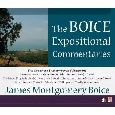 Boice Expositional Commentaries (CD-ROM): James Montgomery Boice