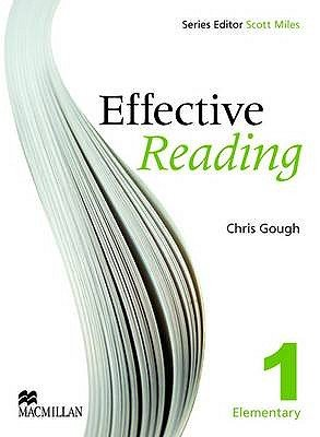 Effective Reading 1 - Elementary Student Book (Paperback): Chris Gough