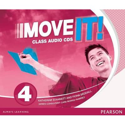 Move It! 4 Class CDs (Audio): Katherine Stannett, Fiona Beddall
