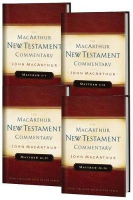 Matthew 1-28 MacArthur New Testament Commentary Four Volume Set (Hardcover, New): John F Macarthur