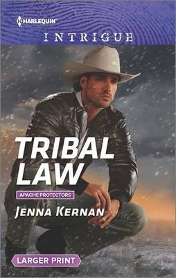Tribal Law (Large print, Paperback, large type edition): Jenna Kernan