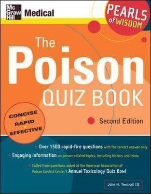 The Poison Quiz Book - Pearls of Wisdom (Paperback, 2nd Revised edition): John Harris Trestrail