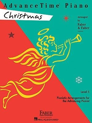 AdvanceTime Piano, Level 5, Christmas (Paperback):