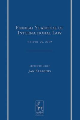 Finnish Yearbook of International Law, Volume 20, 2009 (Electronic book text, ePub): Jan Klabbers