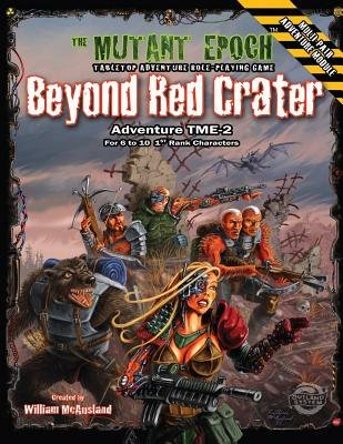 Beyond Red Crater - Adventure Tme-2 (Paperback): William McAusland