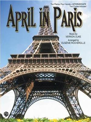 April in Paris (Sheet music):