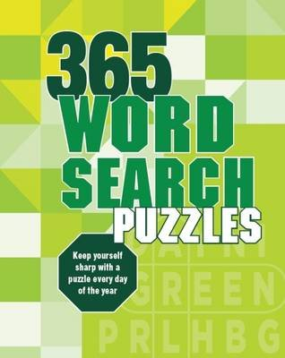 365 Puzzles Wordsearch (Spiral bound):