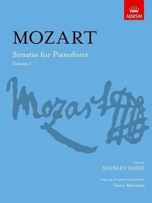 Sonatas for Pianoforte, Volume I (Sheet music, New edition): Wolfgang Amadeus Mozart