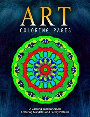 Art Coloring Pages, Volume 8 - Adult Coloring Pages (Paperback): Jangle Charm