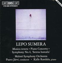 Various Artists - Sumera/musica Tenera (CD): Lepo Sumera, Kalle Randalu, Malmo Symphony Orchestra, Paavo Järvi