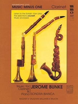 Intermediate Clarinet Solos - Volume 3 (Book, annotated edition):